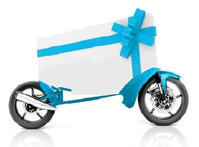 Motorcycle gift voucher