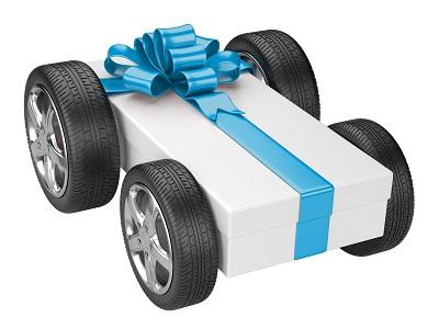 Gift voucher car