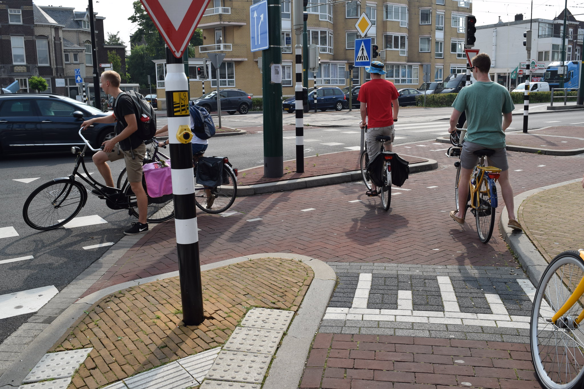 Amsterdam cycle path