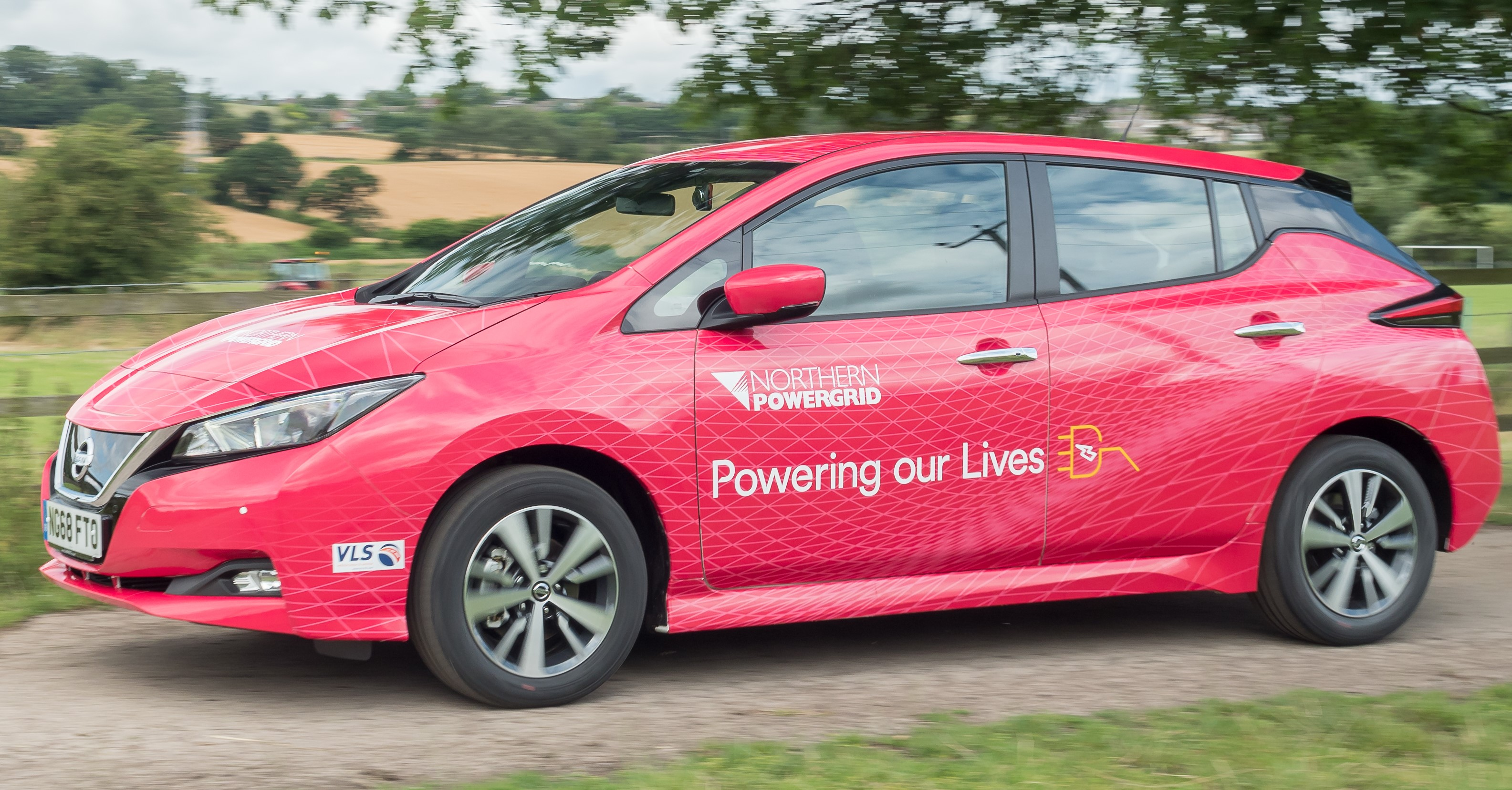Image showing Northern Powergrid's Nissan leaf vehicle