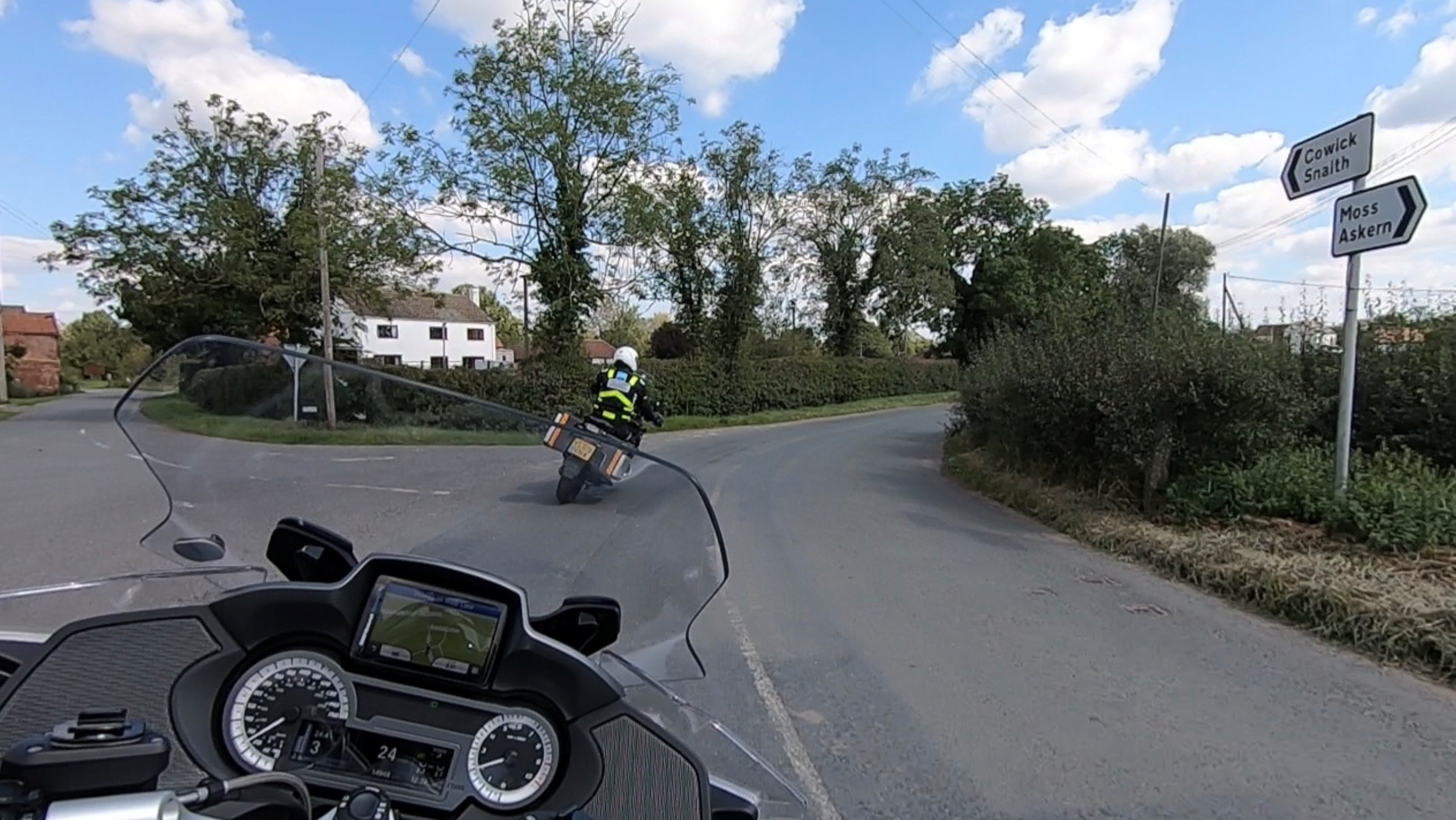 Motorcycle ride-out with IAM RoadSmart