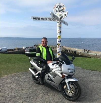 Neil Warden on location