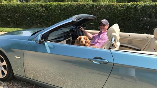Tony and dog