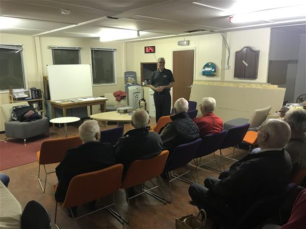 Peterculter Men's shed talk
