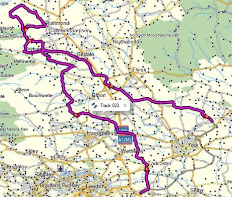 AB route