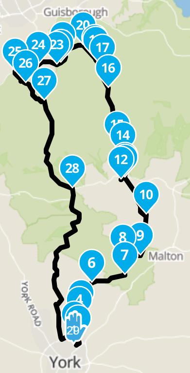 M Eason Route Jun 5