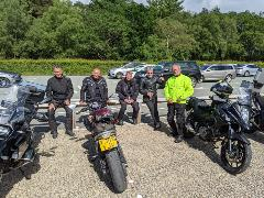 The final gang at Sutton Bank Visitor Centre