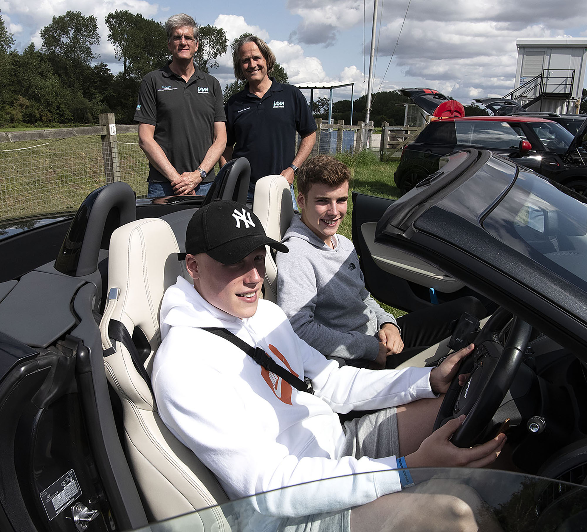 Young Drivers try out Advanced Motoring skills